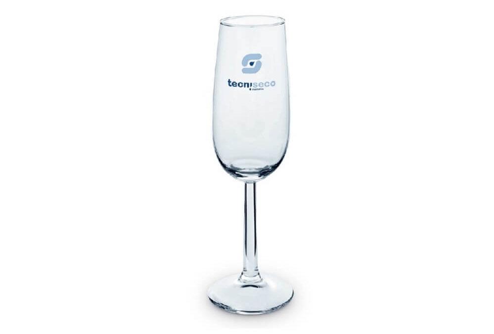 Kieliszki do szampana z nadrukiem KZL13174-14