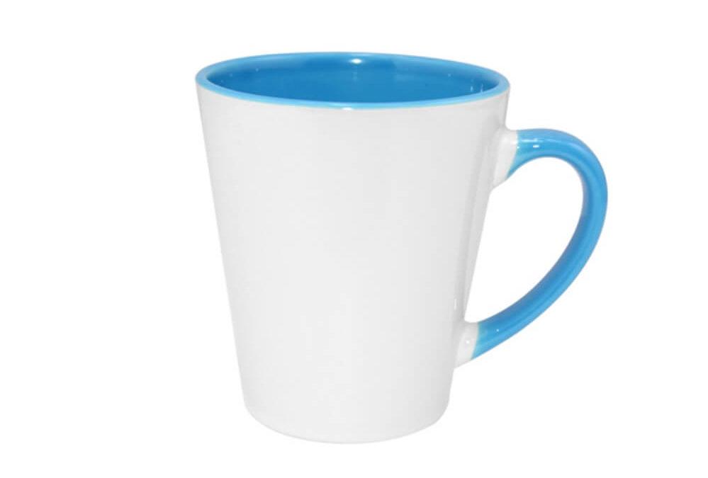 Kubki ceramiczne z kolorowym środkiem KZL13190-1