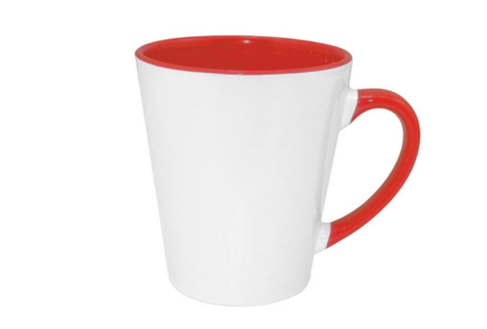 Kubki ceramiczne z kolorowym środkiem KZL13190-5