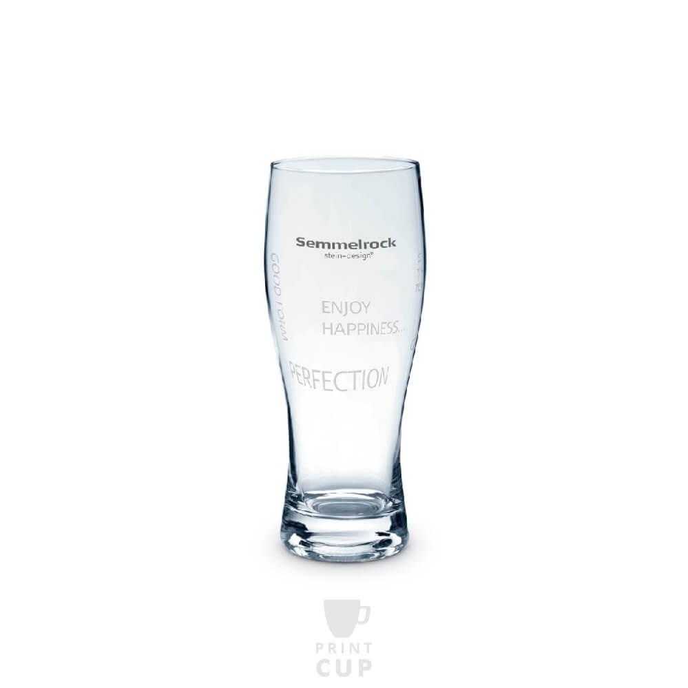 Szklanka do piwa z nadrukiem