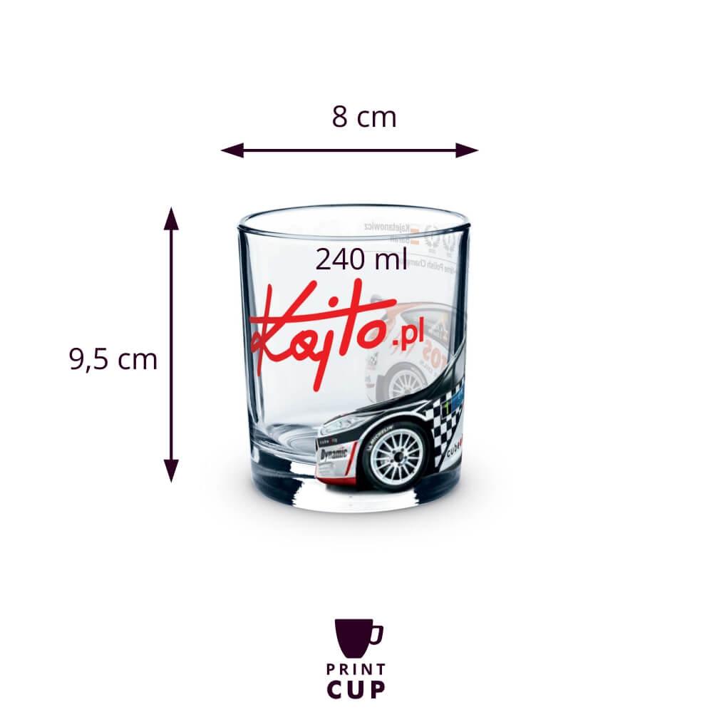Szklanki do drinków z logo