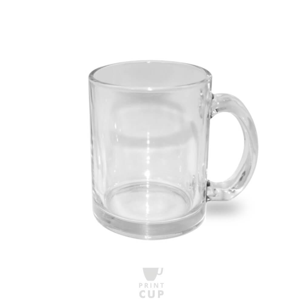 Kubek szklany z logo