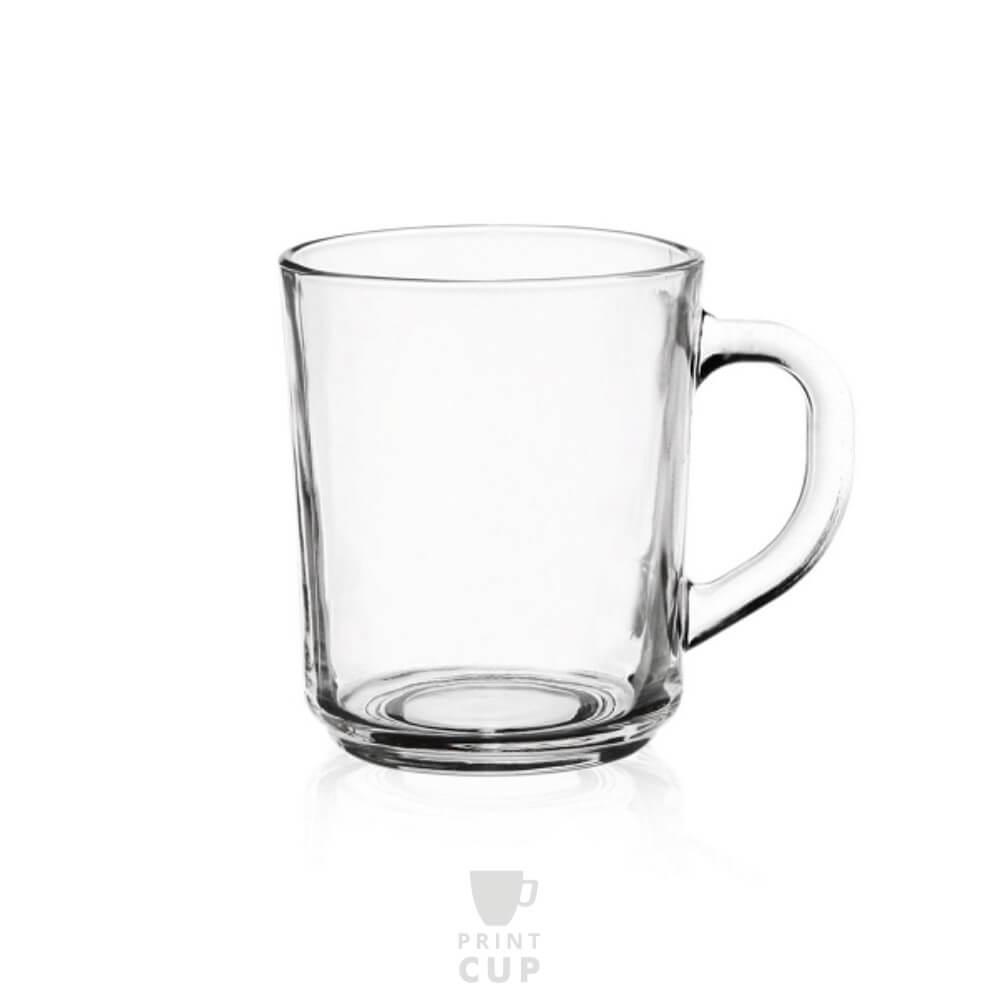 Kubki szklane z nadrukiem firmowym