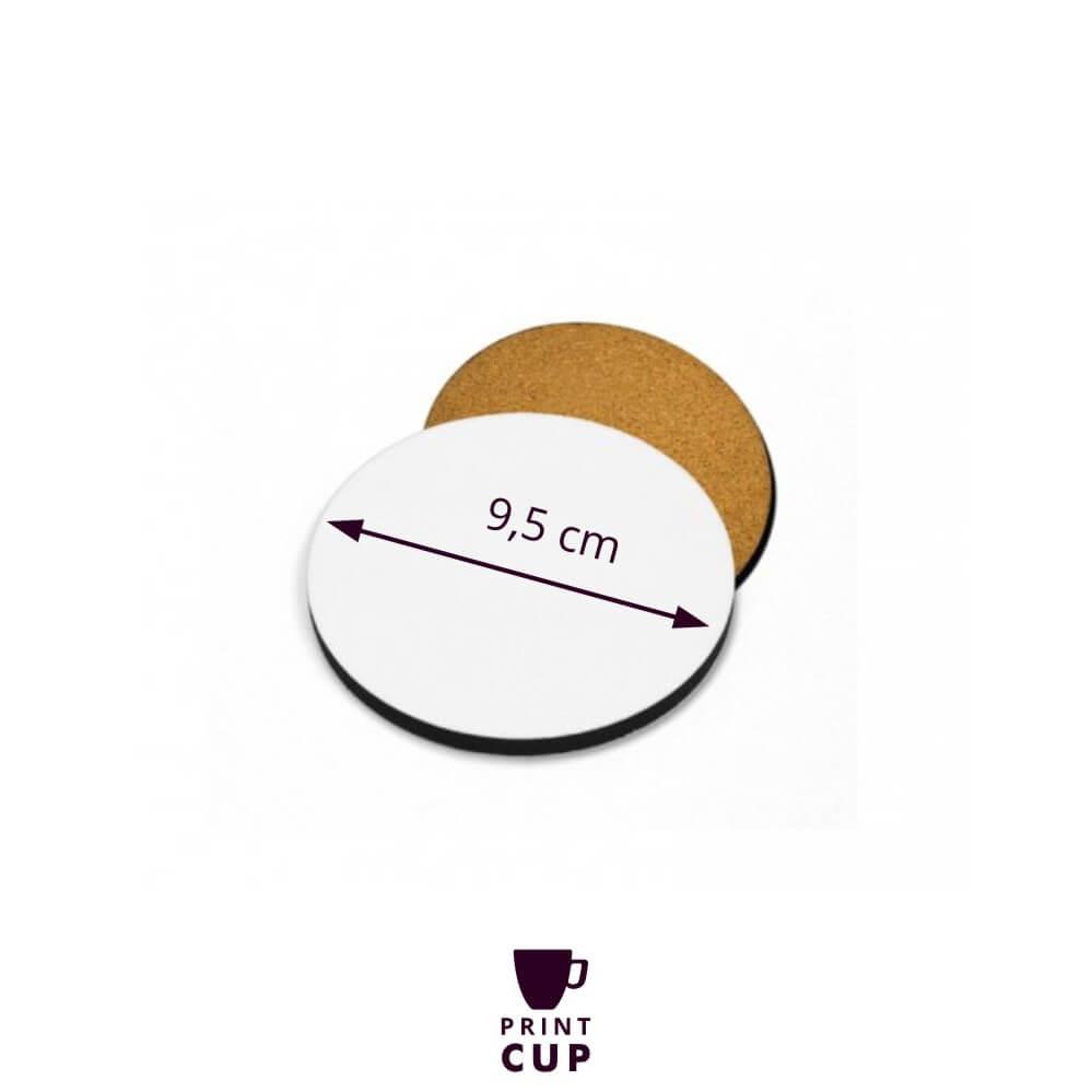 Podkładka pod kubek z własnym logo
