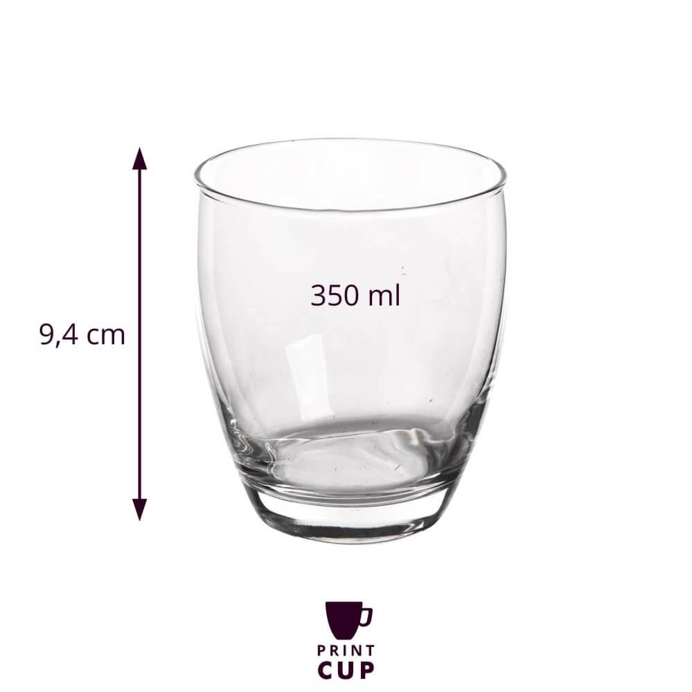 Szklanki do napojów z logo firmy